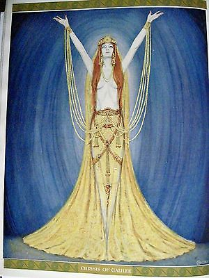 Gorgeous 1919 Art Deco Theatre Program w/ Carl Link Plates - Aphrodite*