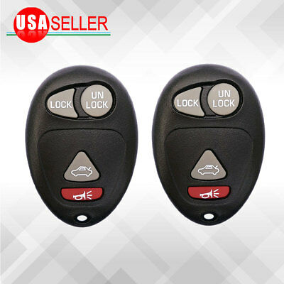 2 Keyless for L2C0007T Replacement Remote  Entry Key Fob