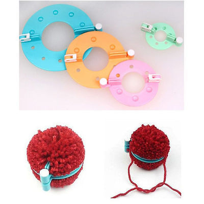 8tl Knitting Loom Strickring Strickliesel Pompon Maker Selber Machen Ball Weaver