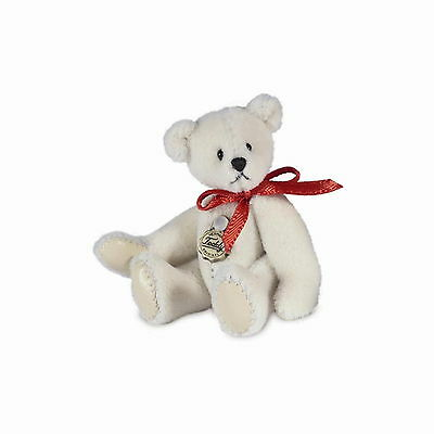 Teddy Hermann fully jointed collectable miniature teddy bear in gift box 15386