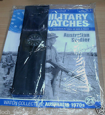 Military Watches Collection magazine #23 Australian Soldier UK 1970s Watch