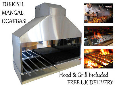 New Scf Turkish Mangal Ocakbasi Indoor Bbq Chargrill Barbecue Catering Uk