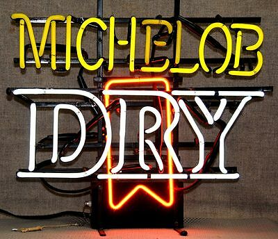 Vintage Michelob Dry indoor neon sign advertising sign fully functional