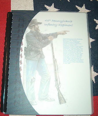 Civil War History of the 45th Pennsylvania Infantry Regiment