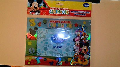 "Disney's Mickey Mouse Clubhouse Magnetic Picture Frame  for 4"" x 6"" picture-NEW"