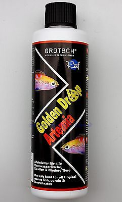 Golden Drop Artemia 250ml GroTech  Gro Tech Korallen- Fisch- Futter 79,80€/L