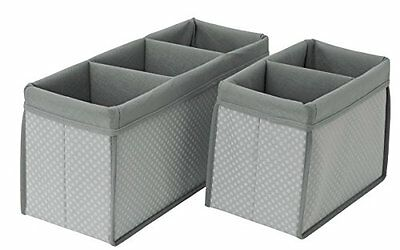 Delta Children 2 Piece Nursery Organizer Set, Dove Grey, New, Free Shipping