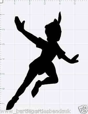 Reusable Mylar Peter Pan Stencil Template for Crafting Canvas decor Wall art