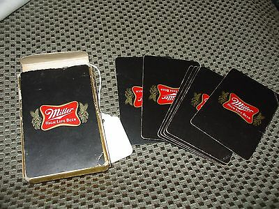 Miller High Life Beer 52 deck of playing cards w/jokers