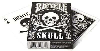 Bicycle Skull Playing Card Deck