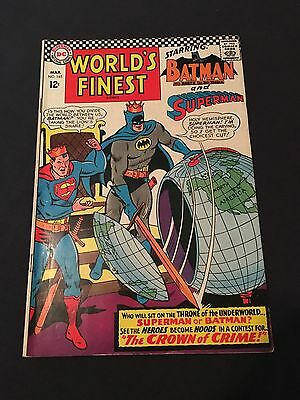 1967 DC Comics Worlds Finest #165 VG+