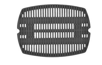 7582 Cast Iron Cooking Grate For Weber Q100 Series & Baby Q100, 120 Grills