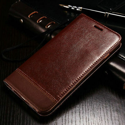 For Samsung Galaxy S7 & S7 Edge Case Leather Wallet Card Holder Flip Stand Cover