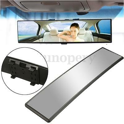 30cm Wide Universal Curve Convex Interior Clip On Panoramic Rear View Mirror Car