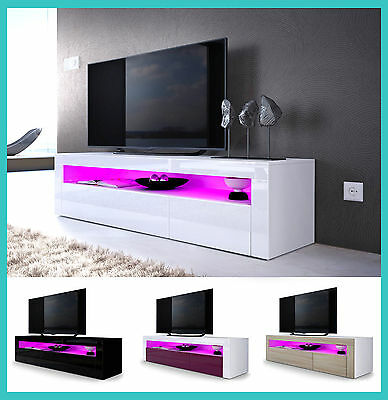 Meuble Tv Laque Table Basse Television Buffet Bas Salle A