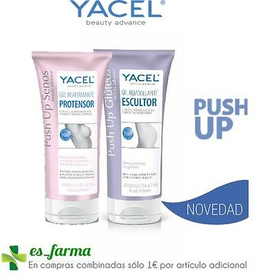 Yacel Push Up Gel Senos Protensor Reafirmante Gluteos Remodelante Escultor 200Ml