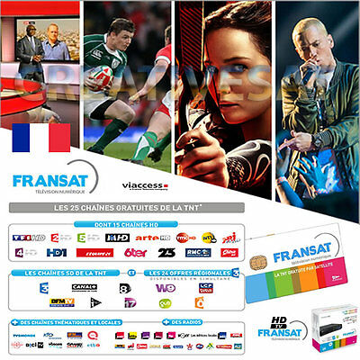 Fransat HD Viewing Card * Only – Watch French HDTV !!!