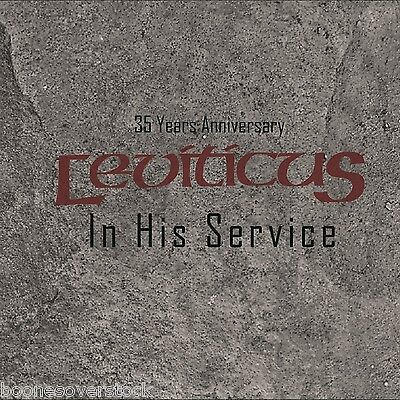 Leviticus - In His Service: 35 Years Anniversary 5 Disc Box Set **new-4 Cd+1 Dvd