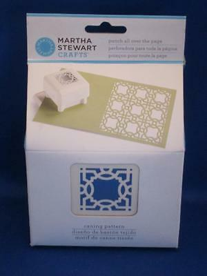 Martha Stewart Punch All Over the Page Caning Pattern Square Medallion NEW