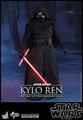 "Kylo Ren Star Wars The Force Awakens Episode VII MMS320 12"" Figur Hot Toys"