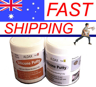Aldax Mold Putty General Purpose Mould Making Silicone Putty 500g