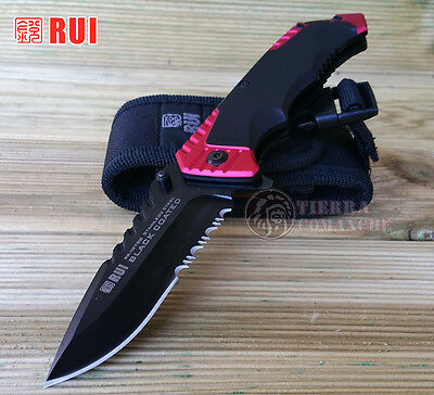 Navaja Tactica RUI/K25 19766 Black Coated Knife Messer Coltello Couteau