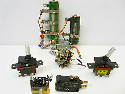 Sony TC-730 Main + Amplifier +  Micro + Mode Switch -Variable Resistors +Counter