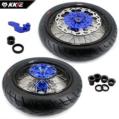 Yamaha Supermotor Motard Wheel Rims Set Wr250F Wr450F Tire  Us02