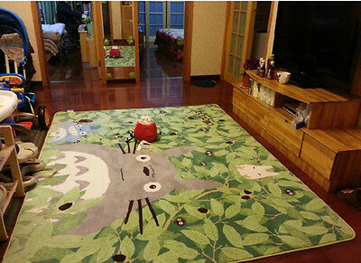 "My Neighbor Totoro Carpet Footcloth Japan Big 51 "" x  71 "" Cos Gift"