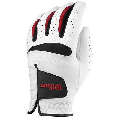 2017 WILSON FEEL PLUS Golf Glove - ALL SIZES FOR LEFT OR RIGHT HANDED PLAYERS