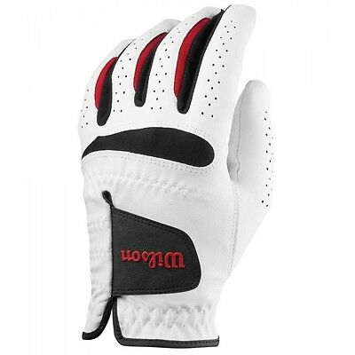 WILSON FEEL PLUS 2017 Golf Glove - ALL SIZES FOR LEFT OR RIGHT HANDED PLAYERS