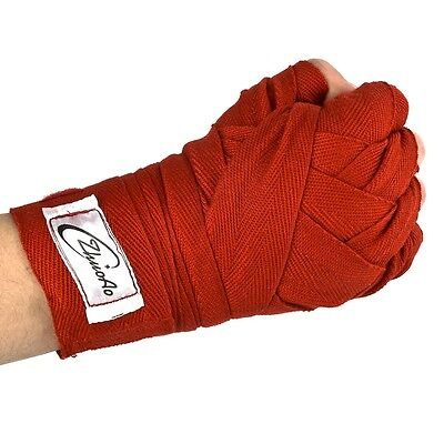 1X  Outdoor Sports Boxing Kickboxing Muay Thai MMA Professional Hand Wrap @AS