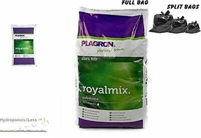 PLAGRON Royal Mix 10,25 or 50L Peat Organic Soil Compost Hydroponics Grow Media