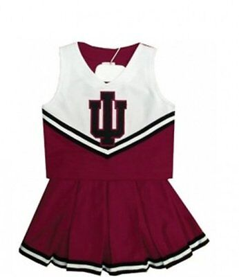 Indiana Hoosiers College Basketball Youth Cheerleading size 20 Halloween Outfit