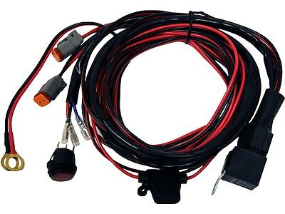 Rigid Industries 40196 - D2 LED Light Wiring Harness