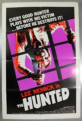 The Hunted - Lee Remick / Michael Hinz - Original American 1Sht Movie Poster