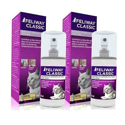 Feliway Spray 60 ml Lot de 2