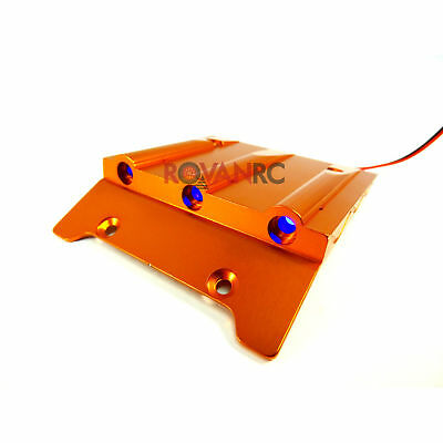 Rovan Aluminum Alloy Lighted Roof Scoop Fits HPI Baja 5b SS 2.0 King Motor Buggy