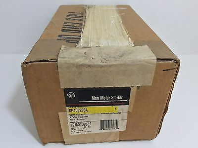Factory Sealed! Ge / General Electric Manual Motor Starter Cr1062S6A