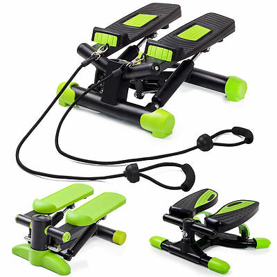 Step Fitness Cyclette Stepper twist Passo-passo laterale Computer LCD Cardio