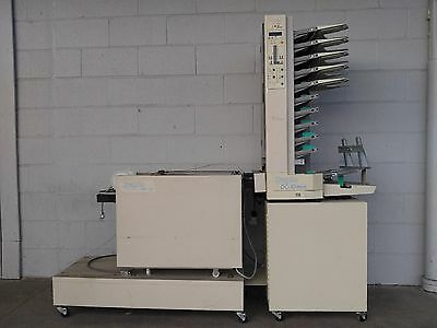 Duplo DBM-100 Stapler Folder &  DC-10 Collator Booklet Maker