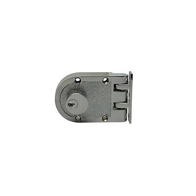 RiteFit Door Lock RJP-2CPDP Double Cylinder Anti Jemmy Deadlock Polished Chrome