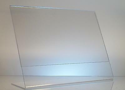 Clear acrylic 11 x 8.5 sign display holder wholesale