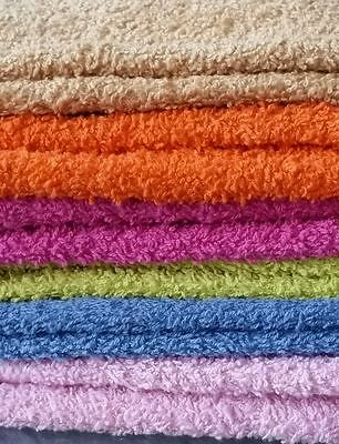 Hand Towels 100% Cotton soft assorted colors 12 pieces
