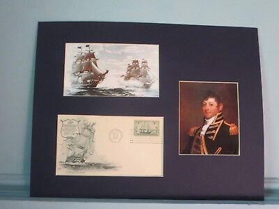 USS Constitution vs. HMS Java and Captain Issac Hull plus First Day Cover