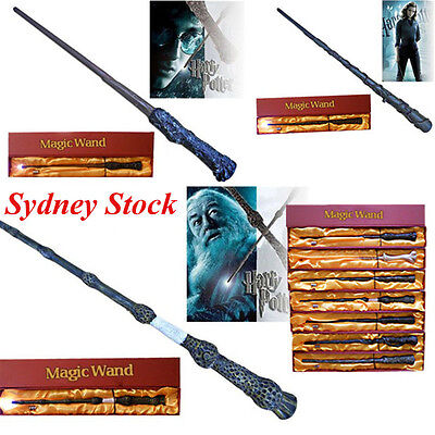 Cosplay Harry Potter Hermione Dumbledore Magic LED Light Wand / Box Sydney Stock