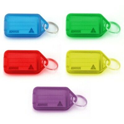 Kevron Key Ring Tag ID5 Standard Mixed Colours *10 Pack*