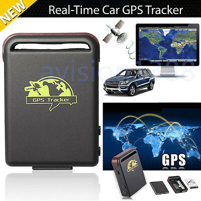 Magnetic Mini Car SPY GSM GPRS GPS Tracker Real Time Tracking Locator Device
