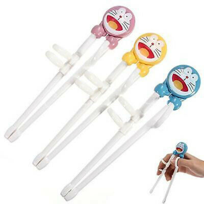 Children Kids Cartoon Training Helper Learning Easy Use Beginner Chopsticks