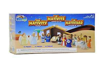 NEW The Nativity Play Set 17 Piece Set Helps Child Learn About Tale of Glory